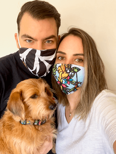 Máscara de Proteção William Piuí Turquesa 7