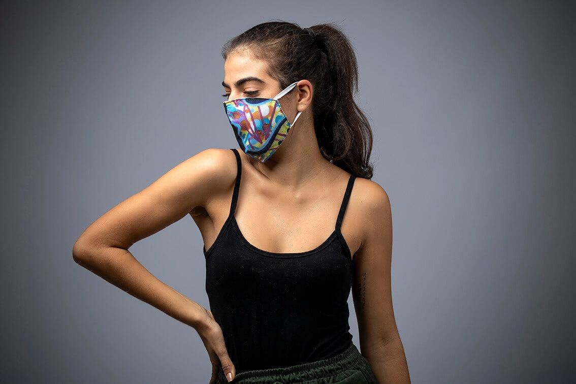 Máscara de Proteção EntreNós 10