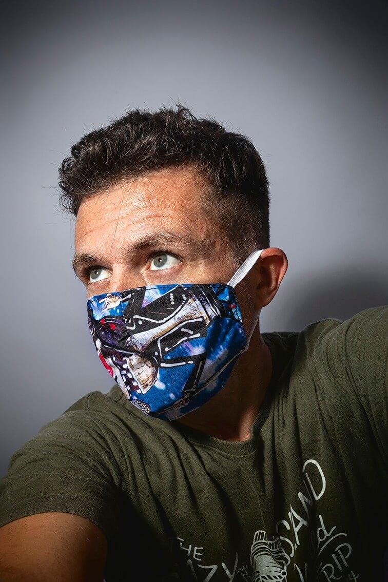 Máscara de Proteção EntreNós 8