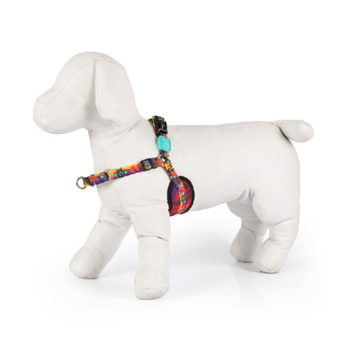 Peitoral Anti-Puxão para Cachorros Pax Splash 1